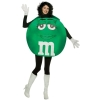 M&Ms Green Poncho - Adult